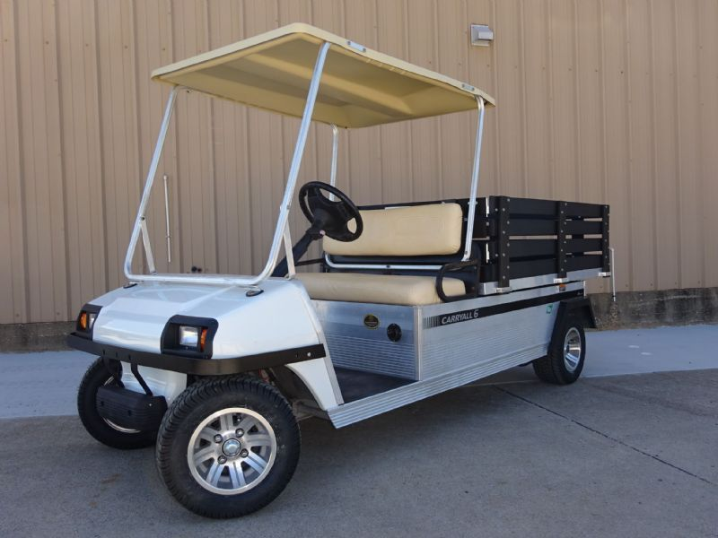 2012 Club Car Carryall 6 Utility Vehicles SOLD!!!