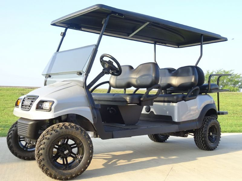 2014 Club Car Precedent Electronic Fuel Injected Gas Golf Cars